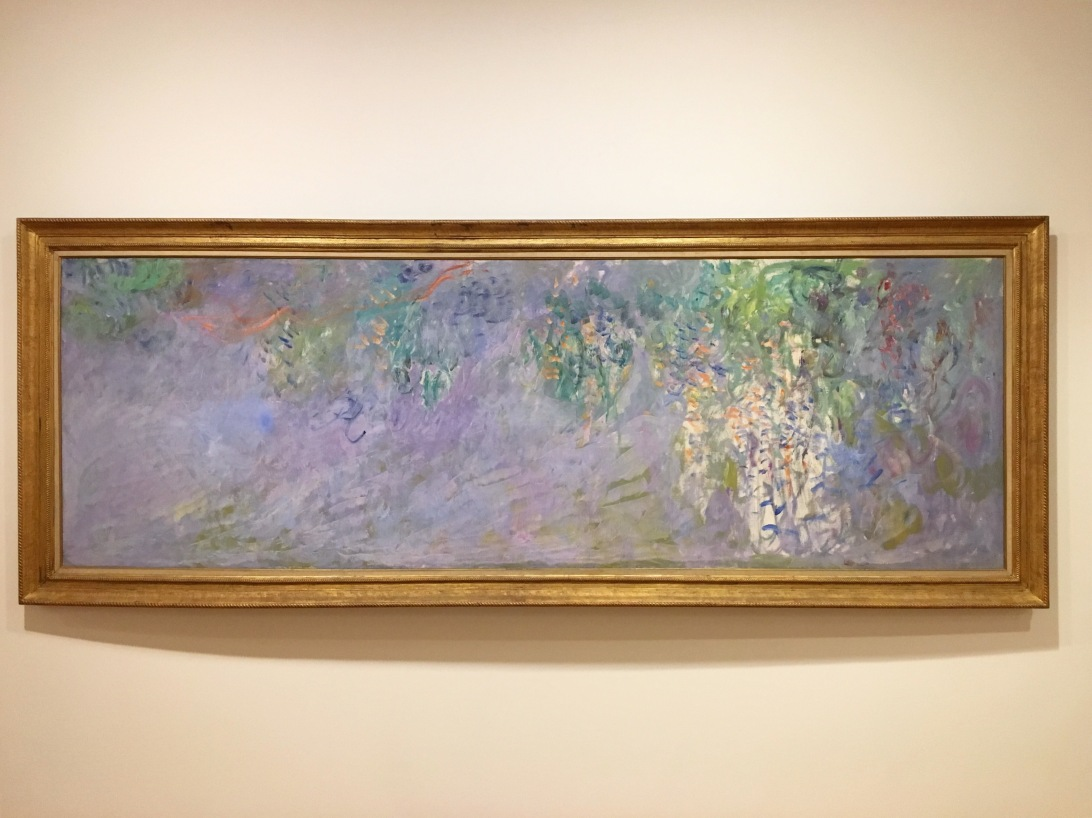 Monet piece at the Vancouver Art Gallery